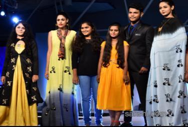 hamstech fashion show at nconvenction center madhapur