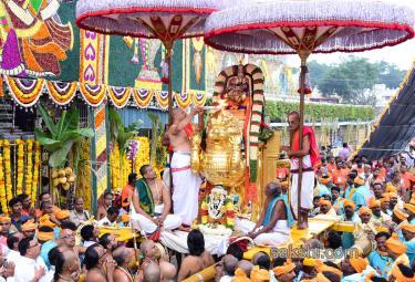 Simha Vahanam 3rd Day of Srivari Brahmotsavam