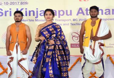 Handmade fashion show in kakinada