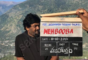 puri jagannath mehbooba movie launch