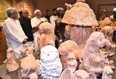 PM Narendra Modi Visits Patna Museum