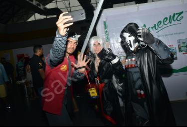 Hyderabad Comic Con 2017 at Hitex Exhibition
