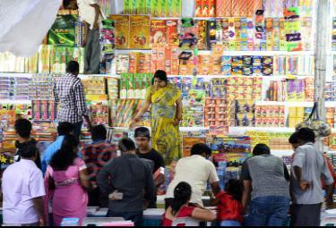 diwali festival shopping in hyderabad