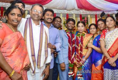 YS Jaganmohan Reddy attends Marriage in Guntur