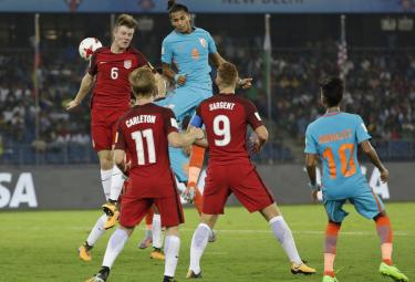 FIFA U-17 World Cup match India and USA