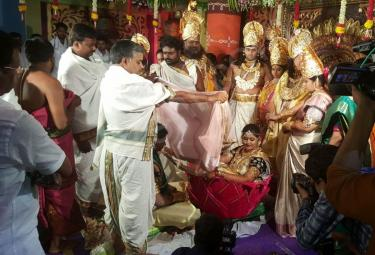 Mythological marriage in west godavari