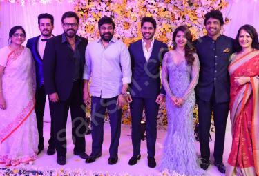 ChaySam Wedding Reception - Sakshi