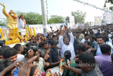 ys jagan 29th day PrajaSankalpaYatra completed - Sakshi