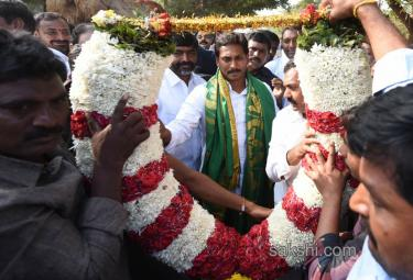 ys jagan prajasankalpayatra enters prakasam - Sakshi