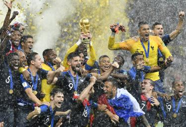 FIFA World Cup 2018 France VS Croatia Final Match Photo Gallery - Sakshi