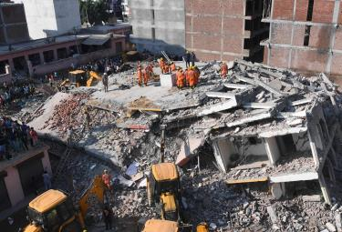 Building Collapse in Greater Noida Photo Gallery - Sakshi