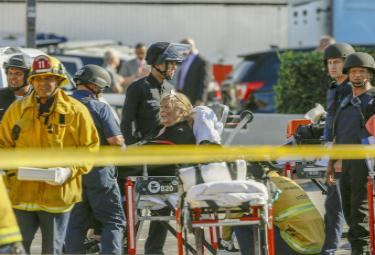 Los Angeles shooting - Sakshi