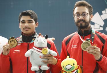 Asian Games 2018 Shooter Saurabh Chaudhary wins gold Photo Gallery - Sakshi