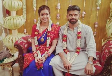 Colours Swathi Marriage Photo Gallery - Sakshi