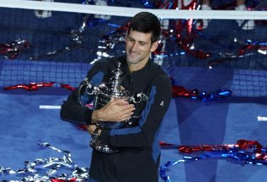 Novak Djokovic winning US Open 2018 Photo Gallery - Sakshi