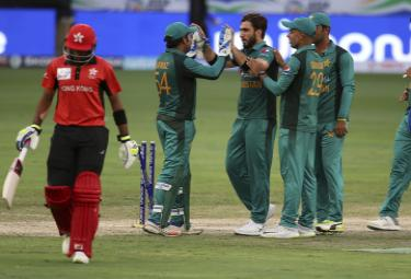 Asia Cup 2018 Pakistan Beat Hong Kong by Eight Wickets Photo Gallery - Sakshi