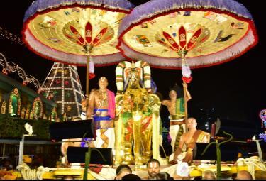 Tirumala Brahmotsavam Gaja Vahana Seva Photo Gallery - Sakshi