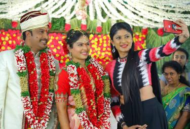 Anchor Chitralekha Marriage Photo Gallery  - Sakshi