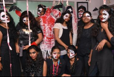 Halloween Show at Vasyaa School Of Design Photo Gallery - Sakshi