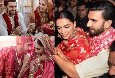 Deepika Padukone and Ranveer singh Marriage Photo Gallery - Sakshi