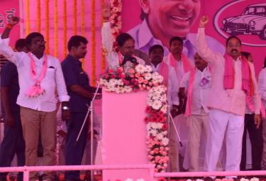 TRS Public Meetings in Khammam, Jangaon Photo Gallery - Sakshi