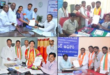 Telangana MLA Candidate Nominations Photo Gallery - Sakshi