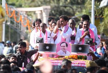 TRS Party President KTR in Sircilla Photo Gallery - Sakshi