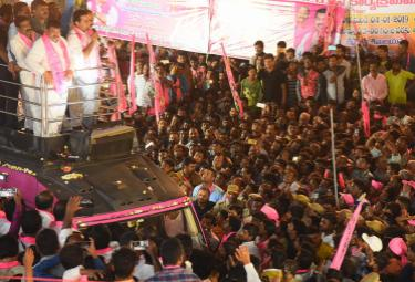 KTR Road Show in Medchal Constituency Photo Gallery - Sakshi