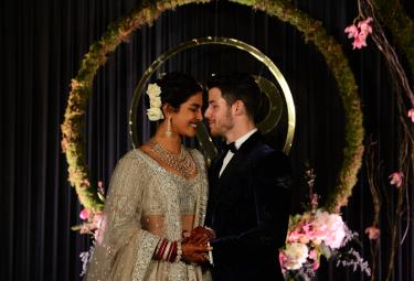 Priyanka Chopra and Nick Jonas Reception Photo Gallery - Sakshi