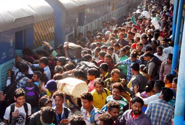 Sankranti Festival Rush Chokes Secunderabad Railway Photo Gallery - Sakshi