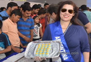 International 'Sweet Festival' in Hyderabad; Over 1,000 Varieties on Display - Sakshi