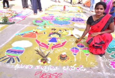 sankranti festival In Nalgonda - Sakshi