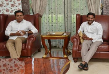 KTR Meets YS Jagan Photo Gallery - Sakshi