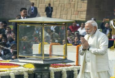 Mahatma Gandhi on his 71st death anniversary Photo Gallery - Sakshi