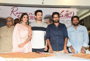 MrMajnu Team Meet In Vijayawada Photo Gallery - Sakshi