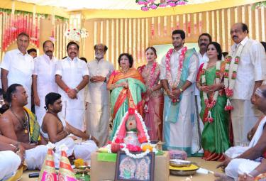 Soundarya Weds Vishagan wedding Photo Gallery - Sakshi