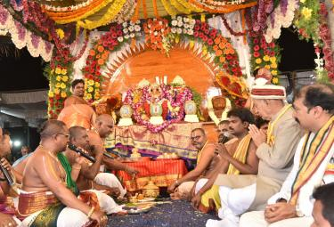 Sri Lakshmi Narasimha Swamy Temple Antarvedi - Sakshi