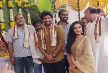 Nani Vikram K Kumar Movie Pooja Photo Gallery - Sakshi