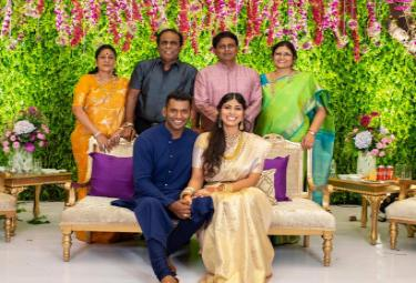 Vishal and Anisha Reddy engagement Photo Gallery - Sakshi