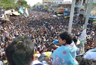 YS Vijayamma Public Meeting at kanigiri Photo Gallery - Sakshi