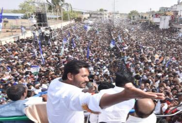 YS Jagan Public Meeting at Madakasira Photo Gallery - Sakshi
