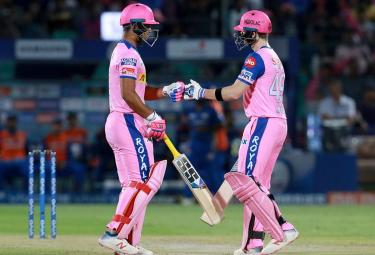 Rajasthan Royals and Mumbai Indians ipl Match photo Gallery - Sakshi