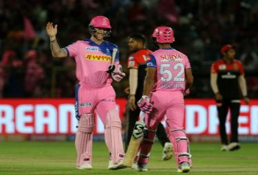Rajasthan Royals beat Royal Challengers Bangalore by 7 wickets Photo Gallery - Sakshi