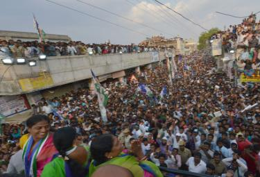 YS vijayamma public meeting at pathikonda photo Gallery - Sakshi