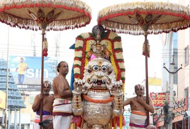Simha Vahanam in Govindarajaswamy Photo Gallery - Sakshi