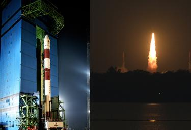 ISRO successfully launches PSLV C46 Photo Gallery - Sakshi