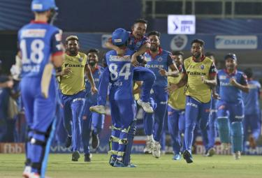 Delhi Capitals Vs Sunrisers Hyderabad IPL Match Photo Gallery - Sakshi