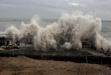 Cyclone Vayu Remains a Threat for Gujarats Photo Gallery - Sakshi