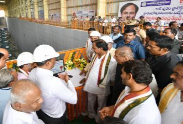 CM KCR Inaugurates Kaleshwaram Project Photo Gallery - Sakshi
