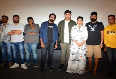 Evaru Teaser Launch Photo Gallery - Sakshi